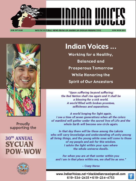 Graphic of 30th Annual Sycuan Pow Wow